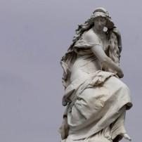 Statute in Joyce Kilmer Park
