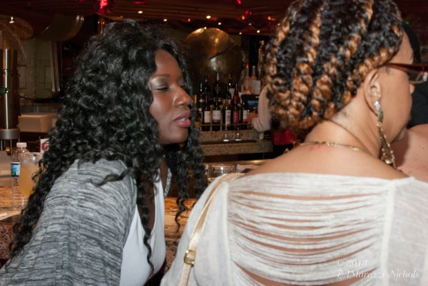 Vanessa Haynes and the back/side of me