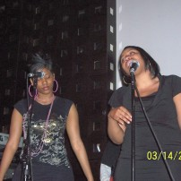Background vocalists for Choklate