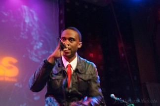 Darien Brockington aka D. Brock at SOB's, NY