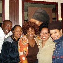 Jeremiah, Detrel, Antoinia, Me and Monet (one of the smoothest, soulful, jazziest flutists ever!)