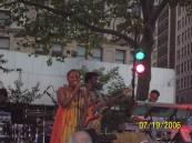 Ledisi in Madison Sq. Park, NYC