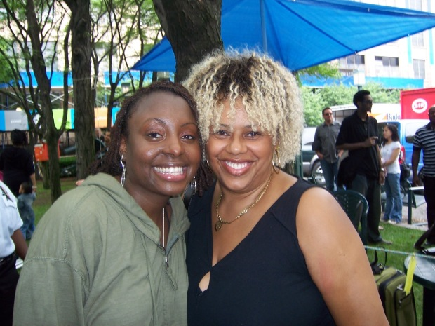 Ledisi and Me after the BAM show