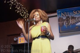 The Hostess of Nu Soul Saturday, Jodine Dorce