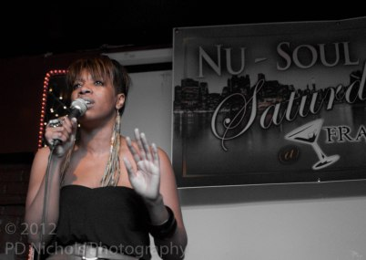 Carmen Rodgers with Nu Soul Saturday